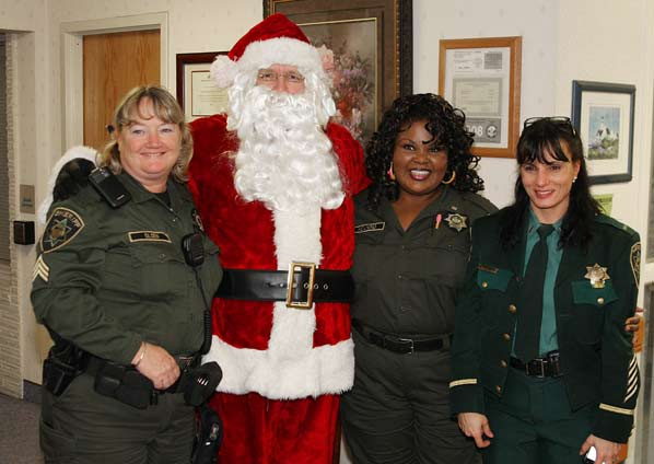 Sheriff's Office staff brightens the holidays for the most