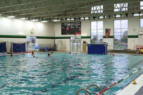 parkrose pool gets new scoreboard and timing system east pdx news