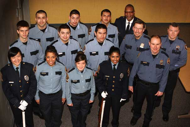 New Portland Police Bureau Cadets sworn in at outer East