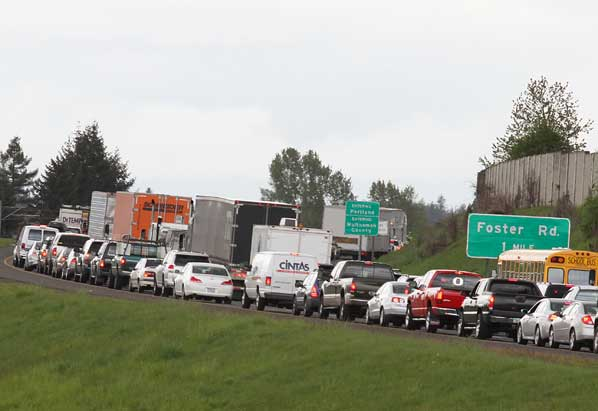 Grinding head-on crash closes I-205 for half a day | East