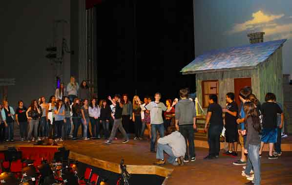 Fiddler on Roof' comes to life on David Douglas High stage