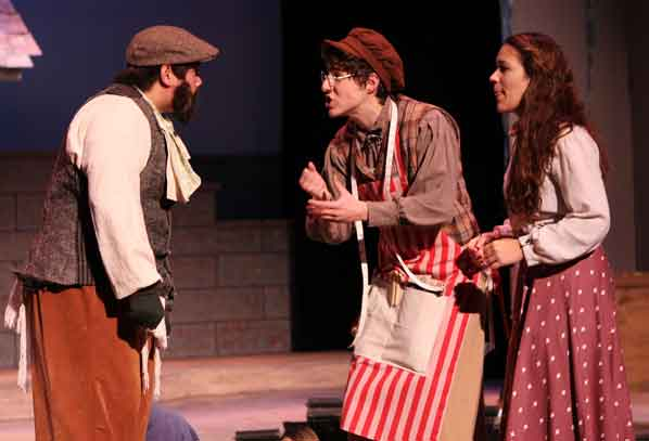 Tevye Learns From The Villageu0027s Young, Struggling Tailor, Motel (Pablo  Iniguez), That He And Tzeitel Gave Each Other A Pledge To Marry U2013 To Their  Fathersu0027 ...