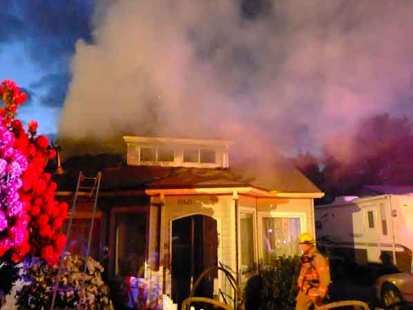 Hot Stovepipe Causes Blaze At Parkrose Heights Home East