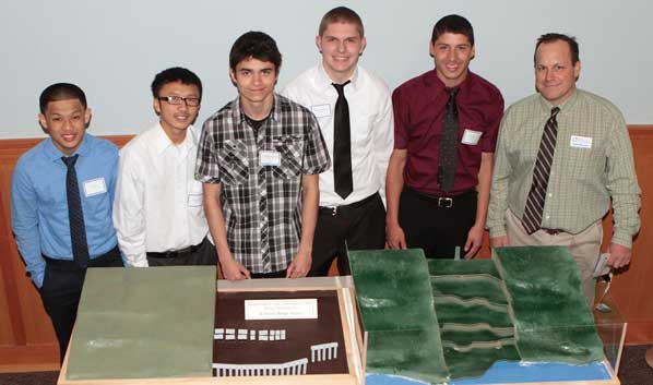 ACE students show project at