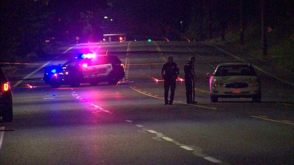 Pedestrian struck and killed in late-night Halsey collision