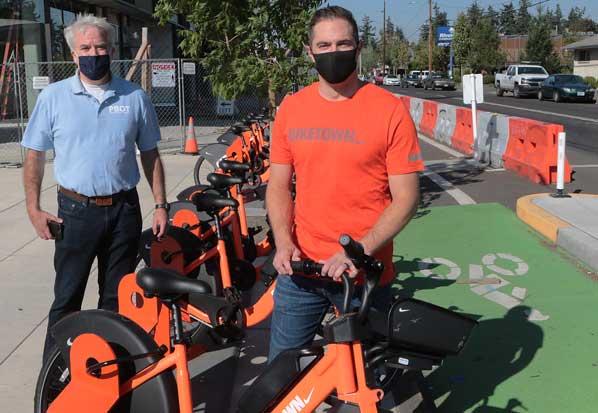 Portland's 'E-Bikes' début at Gateway Discovery Park